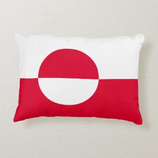 Almofada Decorativa Bandeira de Greenland