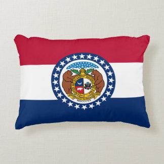 Almofada Decorativa Bandeira de Missouri