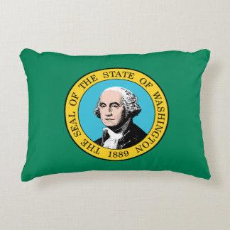 Almofada Decorativa Bandeira de Washington