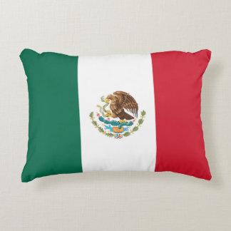 Almofada Decorativa Bandeira mexicana do travesseiro lombar Tricolor