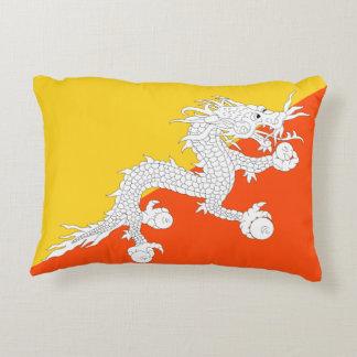 Almofada Decorativa Bandeira nacional do mundo de Bhutan