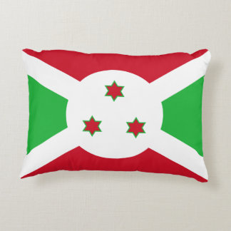 Almofada Decorativa Bandeira nacional do mundo de Burundi