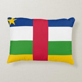 Almofada Decorativa Bandeira nacional do mundo de Central African