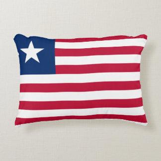 Almofada Decorativa Bandeira nacional do mundo de Liberia