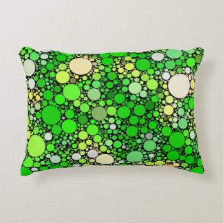 Almofada Decorativa Bolhas de Zazzy, verdes