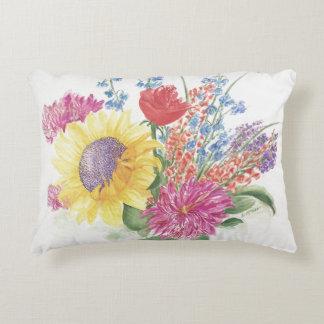 Almofada Decorativa Buquê do travesseiro das flores