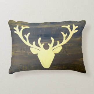 Almofada Decorativa Cabeça dos cervos da série do estilo country de