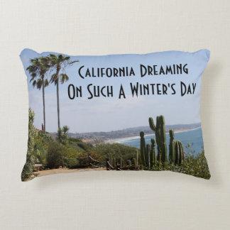 Almofada Decorativa Califórnia que sonha o travesseiro do acento