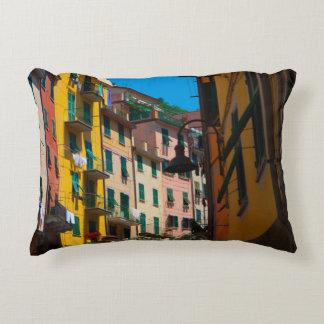 Almofada Decorativa Casas coloridas em Cinque Terre Italia