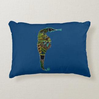 Almofada Decorativa Cavalo marinho de néon