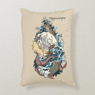 Almofada Decorativa cavalo marinho mitológico