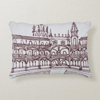 Almofada Decorativa Claustro | Lisboa do monastério de Jeronimos,