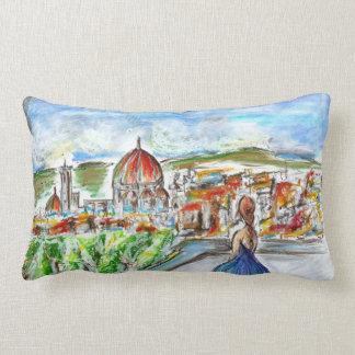 Almofada decorativa colorida de estilo urbano