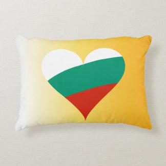 Almofada Decorativa Coração búlgaro