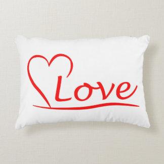 Almofada Decorativa Coração com amor