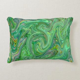 Almofada Decorativa cores cremosas, verdes
