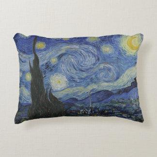 Almofada Decorativa Coxim do lance da noite estrelado por Vincent van
