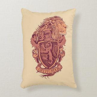 Almofada Decorativa Crista do leão de Harry Potter | Gryffindor