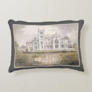 Almofada Decorativa Decoração elegante da aguarela romântica da