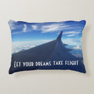 Almofada Decorativa Deixe seus sonhos tomar o vôo! Acentue o