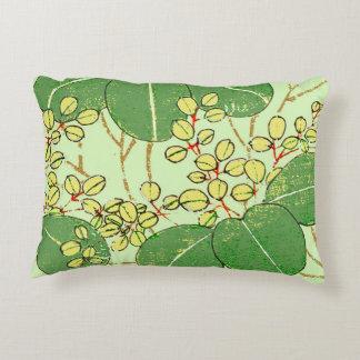 Almofada Decorativa Design floral asiático japonês do impressão da