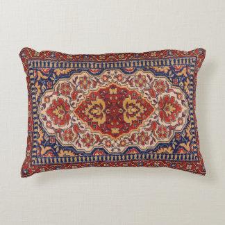 Almofada Decorativa Design geométrico floral étnico colorido do tapete
