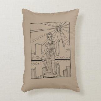 Almofada Decorativa Deusa da linha design da liberdade da arte