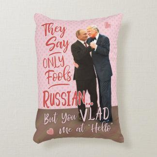 Almofada Decorativa Dia dos namorados engraçado de Donald Trump