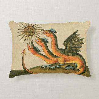 Almofada Decorativa Dragões da alquimia de Clavis Artis