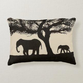 Almofada Decorativa Elephant Nature Ink Pillow