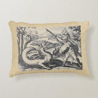 Almofada Decorativa Emblema da alquimia do assassino do dragão