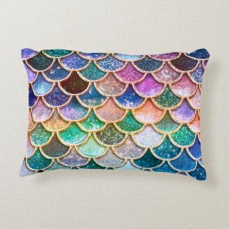 Almofada Decorativa Escalas summerly multicoloridos da sereia do