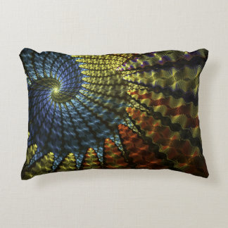 Almofada Decorativa Espiral psicadélico