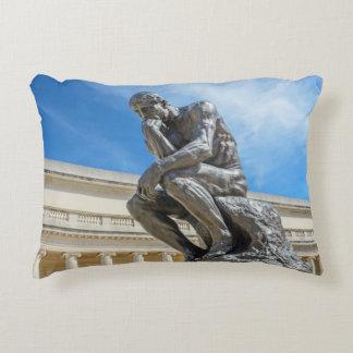 Almofada Decorativa Estátua do pensador de Rodin
