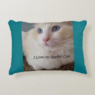 Almofada Decorativa Eu amo meu gato de Ragdoll