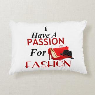 Almofada Decorativa Eu tenho uma paixão para o travesseiro da forma