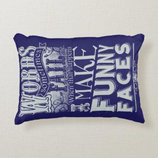 Almofada Decorativa Faça as caras
