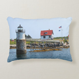 Almofada Decorativa Farol da ilha da ram, travesseiro do acento de