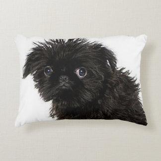 Almofada Decorativa Filhote de cachorro do Affenpinscher