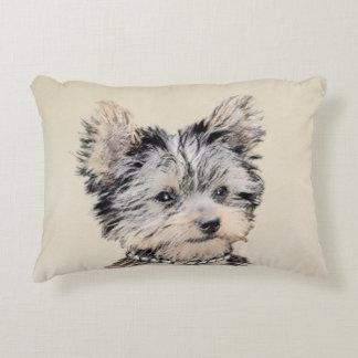 Almofada Decorativa Filhote de cachorro do yorkshire terrier