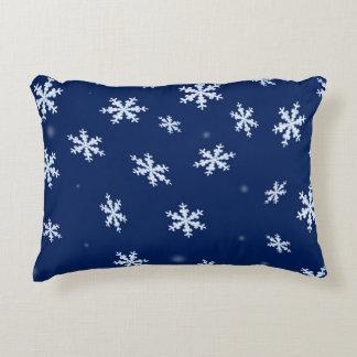 Almofada Decorativa Flocos de neve