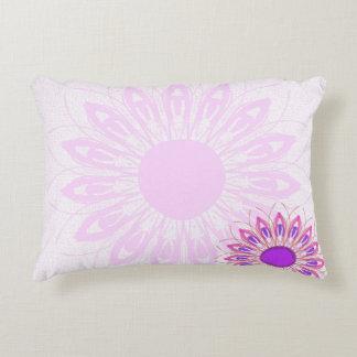 Almofada Decorativa flor cor-de-rosa