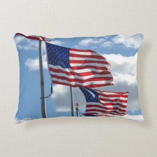 Almofada Decorativa Fotografia da bandeira dos Estados Unidos