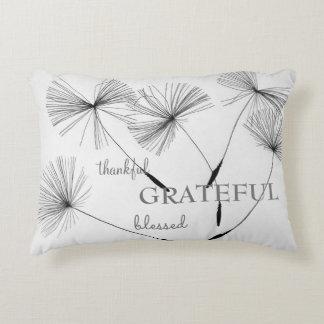 Almofada Decorativa Grato grato do travesseiro do impressão do