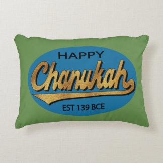 "Almofada Decorativa Hanukkah travesseiro ""Chanukah BCE retros """