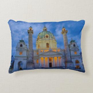 Almofada Decorativa Igreja do santo Charles, Viena