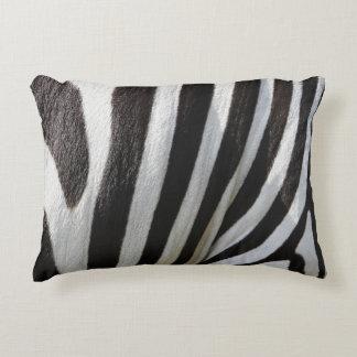 Almofada Decorativa Impressão preto & branco do travesseiro interno do