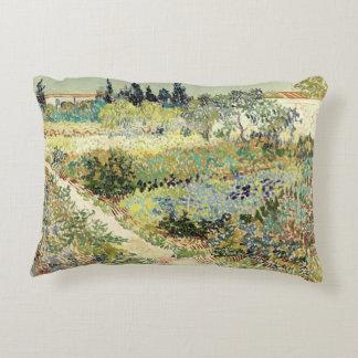 Almofada Decorativa Jardim de Vincent van Gogh em Arles