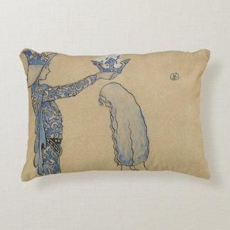 Almofada Decorativa John Bauer - pnha então o príncipe uma coroa do