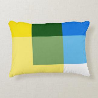 Almofada Decorativa Limão - multi travesseiro amarelo do acento da cor